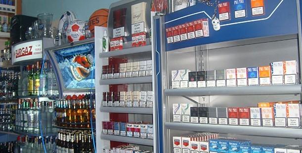 Alkol ve Sigara Satışı Yapılan Yerler