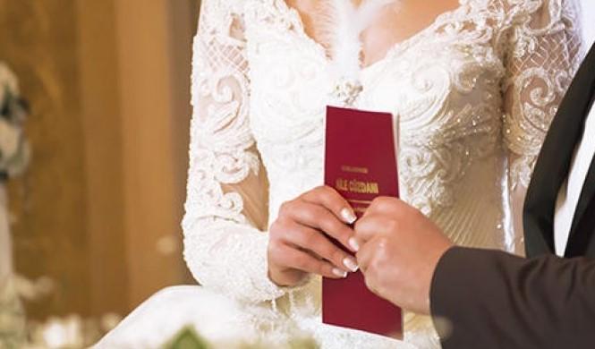 Evlilik için alınan sağlık raporu