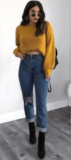 Sonbahar-Kış Pantolon Kombini