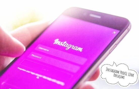 instagram link paylaşımı