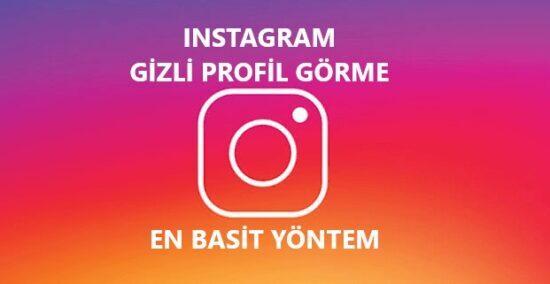 Instagram kapalı hesap görüntüleme