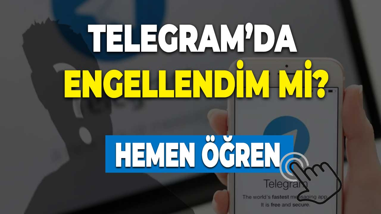 Telegram'da engeli kaldırma