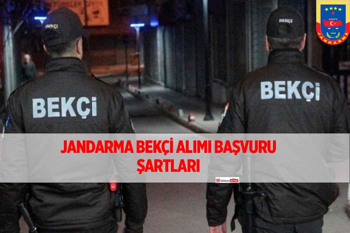 EGM Jandarma Bekçi Alımı