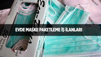 Evde Maske Paketleme İşi Nasıl Yapılır?