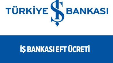 İş Bankası İnternet Şubesi ve Mobil Bankacılık EFT Ücreti